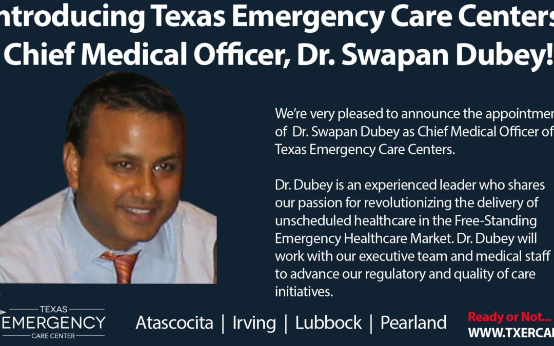 Introducing TECC's Chief Medical Officer, Dr. Swapan Dubey
