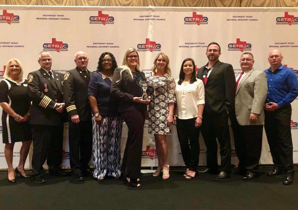 TECC Wins SETX Regional Advisory Council's Community Partner of the Year Award
