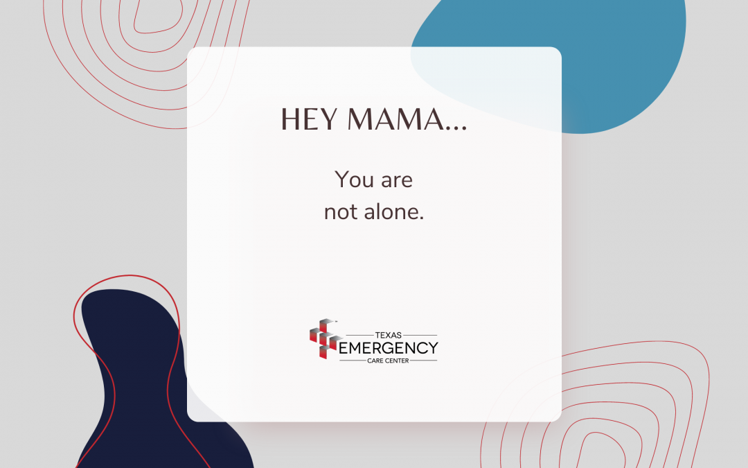 Hey mama… you are not alone.